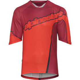 Alpinestars Crest 3/4 Sleeve Jersey Men rio red alpinestars red